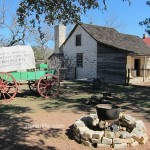 Sauer-Beckmann Farmstead at the LBJ State Park.