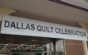 Entrance to the Dallas Quilt Show.
