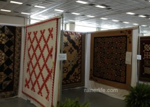 More quilts on display at the 32nd Annual Tyler Quilt Show.