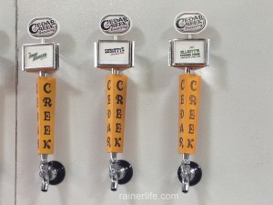 Cedar Creek Brewery beers | rainerlife.com