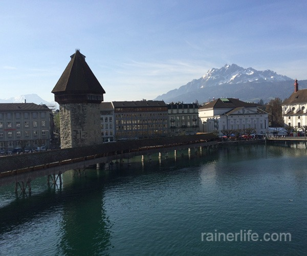 View from our room in Lucerne, Switzerland | rainerlife.com