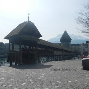 Kapellbrücke (Chapel Bridge), Lucerne, Switzerland | rainerlife.com