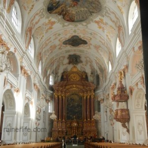Jesuitenkirche (Jesuit Church), Lucerne, Switzerland | rainerlife.com