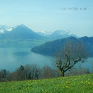 View from Rigi Railways, Switzerland | rainerlife.com