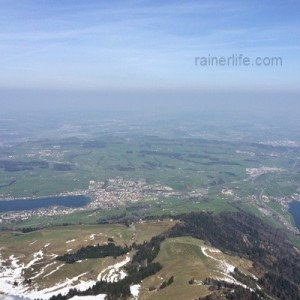 View from Mt. Rigi, Switzerland | rainerlife.com