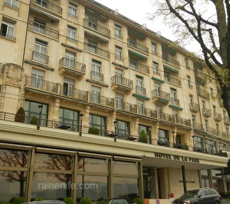 Hôtel de la Paix, Lausanne, Switzerland | rainerlife.com