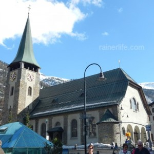 St. Mauritius Church, Zermatt, Switzerland | rainerlife.com