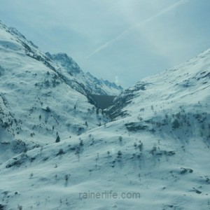 View from Glacier Express, Switzerland | rainerlife.com