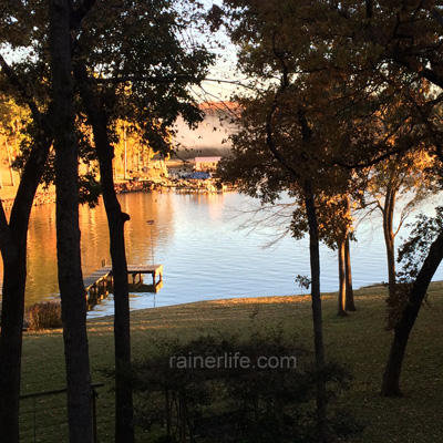 Lake Palestine | rainerlife.com