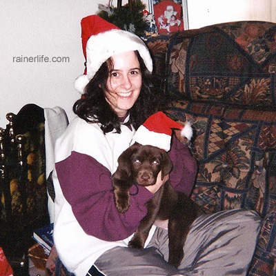 Belle and Me Christmas 2001 | rainerlife.com