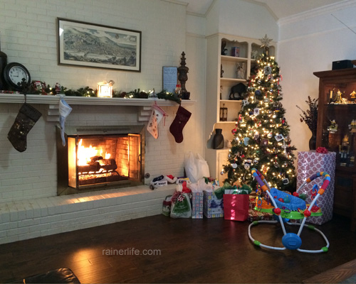 Christmas morning| rainerlife.com