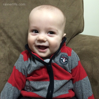 Gavin is 7 months old! | rainerlife.com