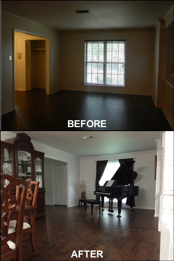 Dining Room {Before & After} | rainerlife.com