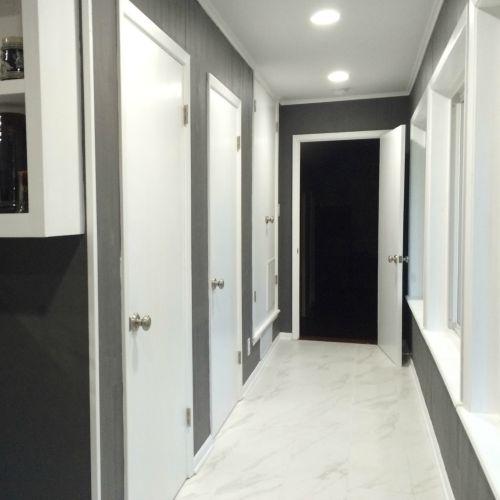 Updated Kitchen Hallway | rainerlife.com