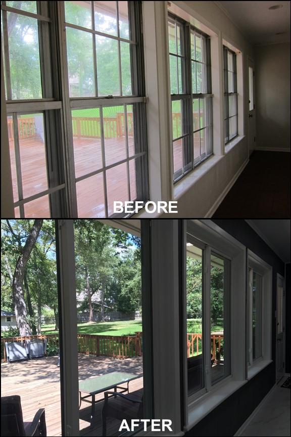 Kitchen Hallway {Before & After} | rainerlife.com