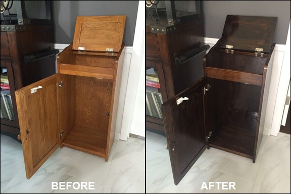Trash Bin {Before & After} | rainerlife.com