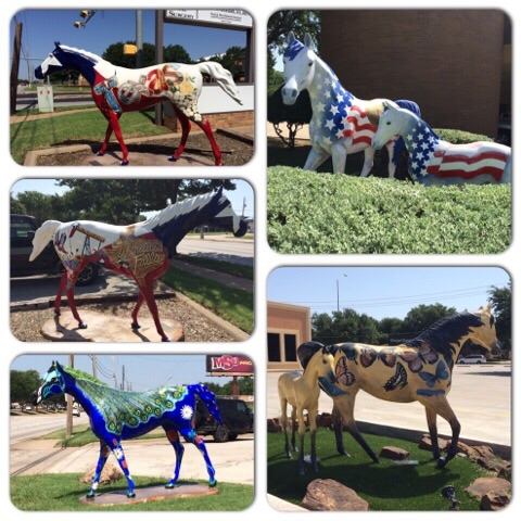 The Mane Event (Painted Horses) in Wichita Falls | rainerlife.com