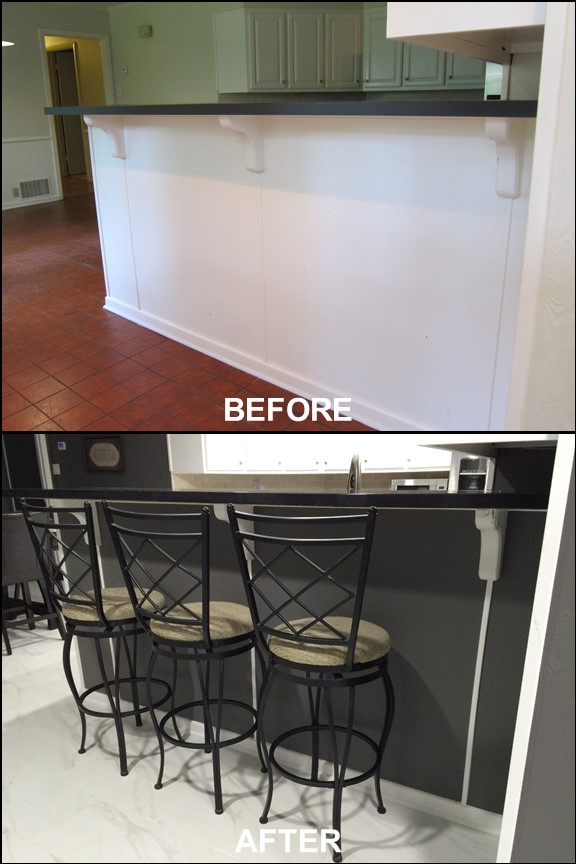 Kitchen {Before & After} | rainerlife.com