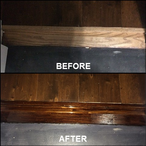 Floor Transitions {Before & After}   rainerlife.com