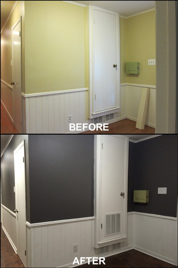 Back Entry {Before & After} | rainerlife.com