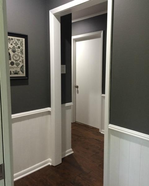 Updated Hallway | rainerlife.com