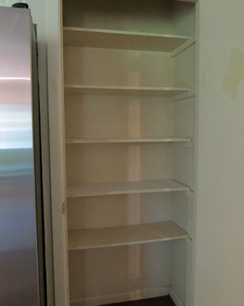 Old reach-in pantry | rainerlife.com