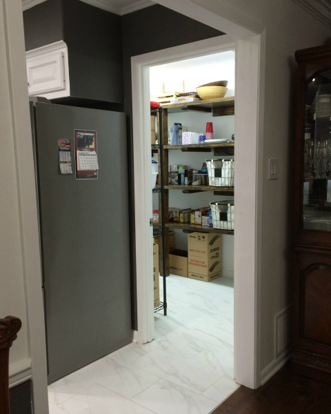 Wider opening and entry to walk-in pantry| rainerlife.com
