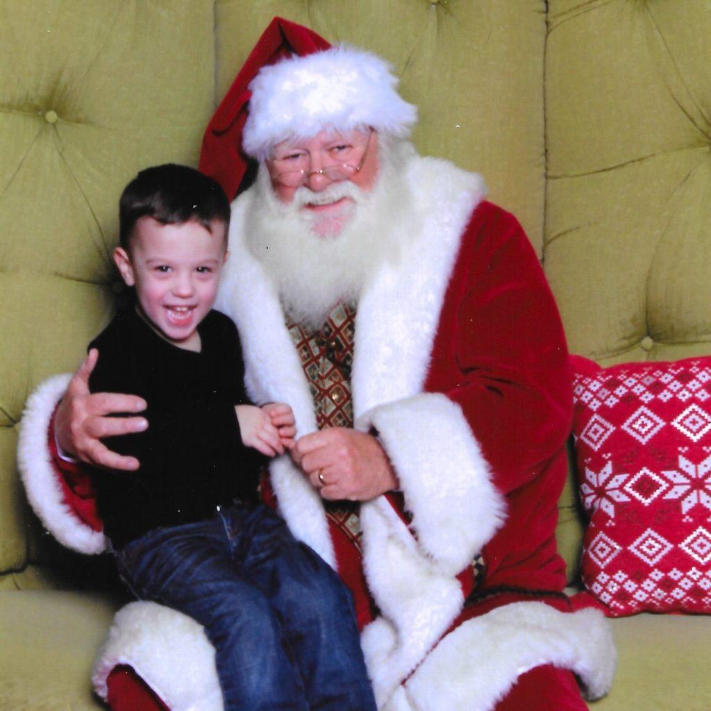 Gavin and Santa | rainerlife.com