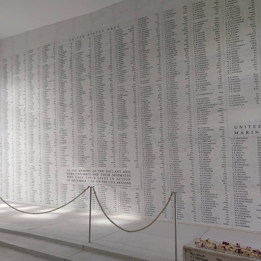 USS Arizona Memorial at Pearl Harbor | rainerlife.com