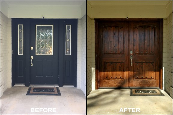 Front Door {Before & After} | rainerlife.com