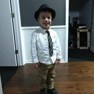 Gavin dressed for Valentine's Day dinner | rainerlife.com