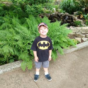 Gavin at the Botanical Gardens in Austin | rainerlife.com