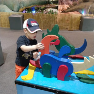 Gavin playing at the science center | rainerlife.com