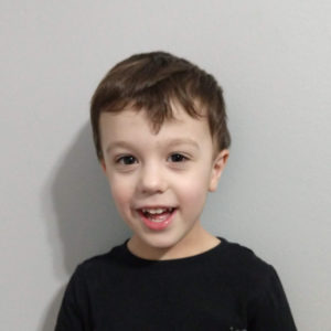 Gavin on his 4th birthday | rainerlife.com
