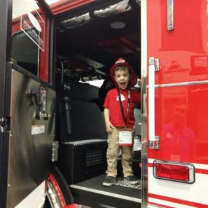 Gavin at the Fire-Rescue Expo | rainerlife.com