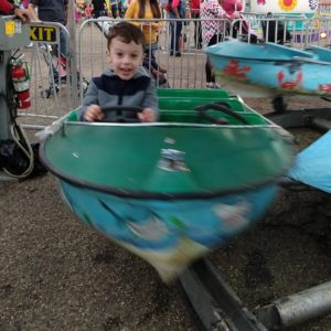 Gavin at the fair | rainerlife.com