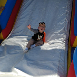 Bounce house fun | rainerlife.com